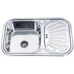 Кухонная мойка Falanco 75х49 декор 0,8