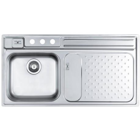 Кухонная мойка ALVEUS Vision 20R COMFORT полированная правосторонняя