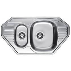 Кухонная мойка Fabiano 850х472х15 микродекор