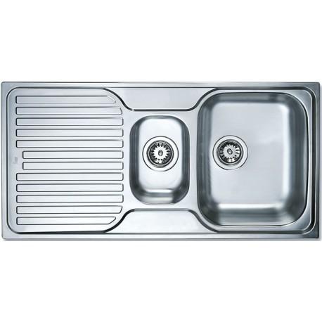 Кухонная мойка Teka Classic 1 1/2 B 1D полированная