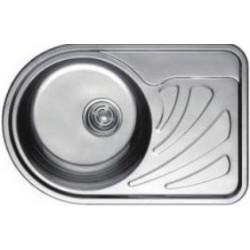 Кухонная мойка HAIBA 668х442 полированная