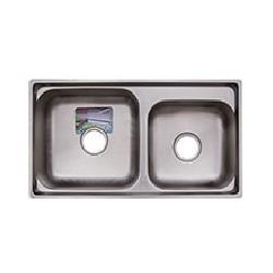 Кухонная мойка TRION 77х42 гладкая