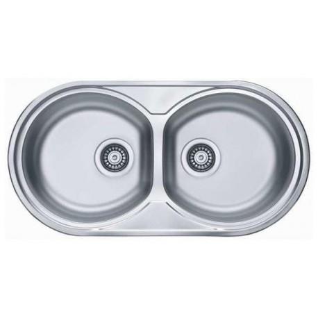 Кухонная мойка ALVEUS FORM 50 2С матовая