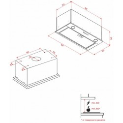 Вытяжка Perfelli BI 6812 W LED