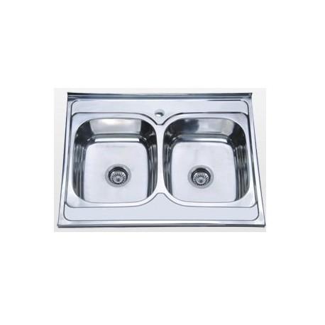 Кухонная мойка Falanco 8060B 0.6 матовая