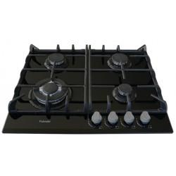 Варочная поверхность Fabiano FHG 10-44 VGH-T Black Glass