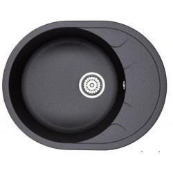 Кухонная мойка Minola MOG 1155-63 графит