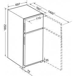 Холодильник Liebherr CTNef 5215