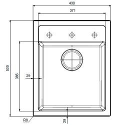 Кухонная мойка Franke Sirius SID 610-40 маскарпоне