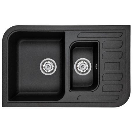 Кухонная мойка Minola MPG 75360-78 антрацит