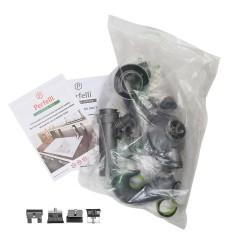 Кухонная мойка Perfelli ESTO PGE 10-55 BLACK