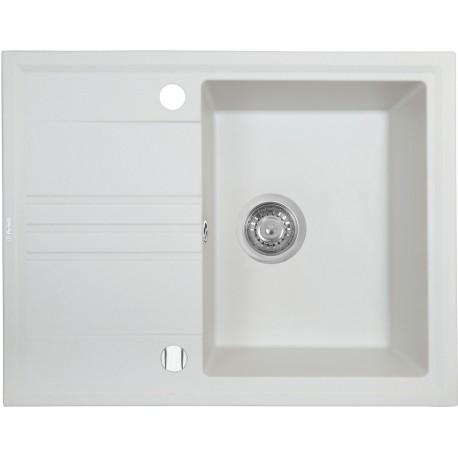 Кухонная мойка Perfelli SILVE PGS 134-64 WHITE