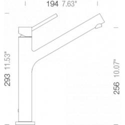 Смеситель кухонный SCHOCK Dion Bronze-87 (510000)