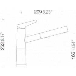Смеситель кухонный Schock SC 510 (554120) Magma-97