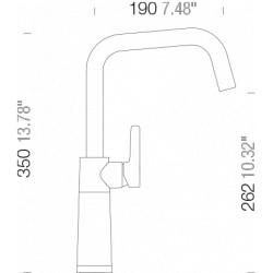 Смеситель кухонный Schock SC 530 (556000) Onyx-10