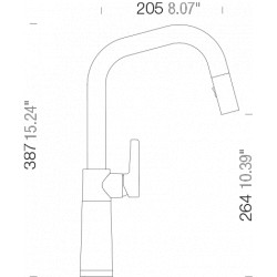 Смеситель кухонный Schock SC 530 (556120) Stone-88