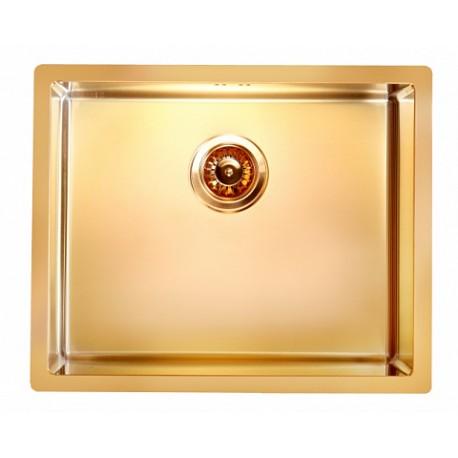 Кухонная мойка ALVEUS Quadrix 50 бронза