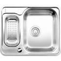 Кухонная мойка BLANCO LANTOS 6-IF полированная нерж. сталь с клапаном-автоматом