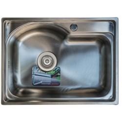 Кухонная мойка TRION 58х43 полированная