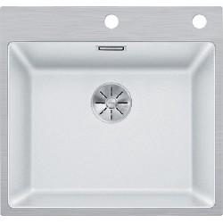 Кухонная мойка BLANCO SUBLINE 500-IF/A  SteelFrame белый