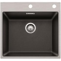 Кухонная мойка BLANCO SUBLINE 500-IF/A  SteelFrame антрацит