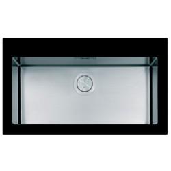 Кухонная мойка Apell PURA PUG861IBC черное стекло