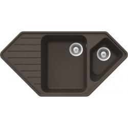 Гранитная мойка Schock Typos C150 Mocha-63 (28129063)
