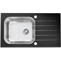 Кухонная мойка Alveus VITRO 20 черное стекло