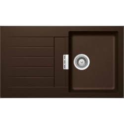 Гранитная мойка Schock Signus D100 chocolate 86