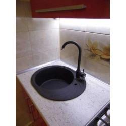 Смеситель кухонный Franke POLA серый камень