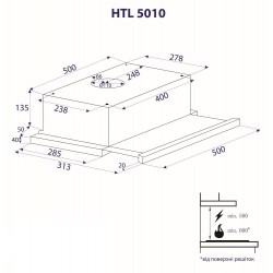 Вытяжка Minola HTL 5010 I 430