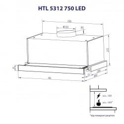 Вытяжка Minola HTL 5312 W