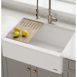 Кухонная мойка Kraus KGF1-30WHITE
