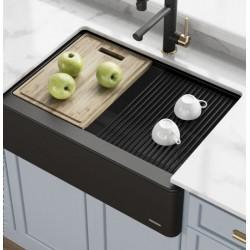 Кухонная мойка Kraus KGF1-30BLACK