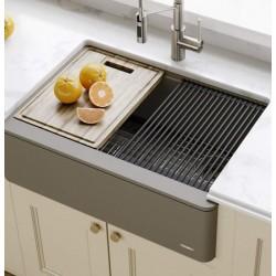 Кухонная мойка Kraus KGF1-30BROWN 30