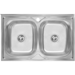 Кухонная мойка Imperial 5080 полированная