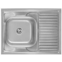 Кухонная мойка Imperial 5080 левая матовая