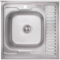 Кухонная мойка Imperial 6060 матовая левая