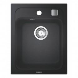 Гранитная мойка Grohe 400х500 Granite Black