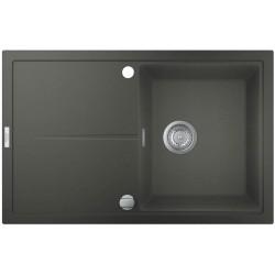 Гранитная мойка Grohe 780х500 Granite Grey