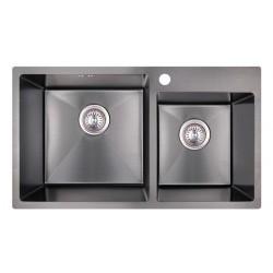 Кухонная мойка Imperial S7843BL PVD black