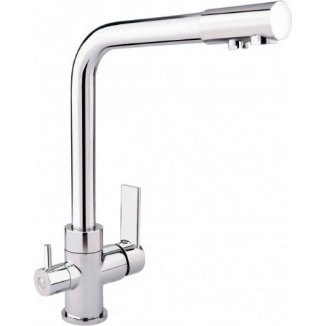 Смеситель кухонный Q-tap Q-tap Form CRM 007F-2