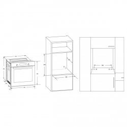 Духовой шкаф FREGGIA OESF68X
