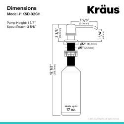 Дозатор Kraus KSD-32CH