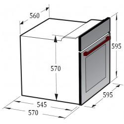 Духовой шкаф Gunter&Hauer EOM 1370 IX