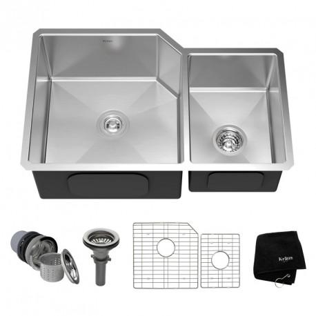 Кухонная мойка Kraus KHU-123-32 матовая