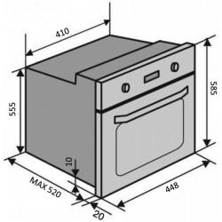 Духовой шкаф электрический VENTOLUX MUNCHEN 6 TC (BKX)