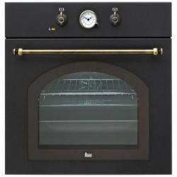 Духовой шкаф электрический Teka HR 550 Rustica черный, ручки латунь