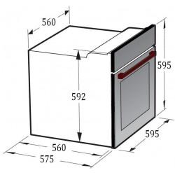 Духовой шкаф Gunter&Hauer EOV 7509 BSX