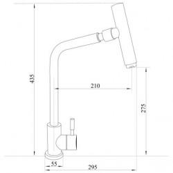 Смеситель кухонный Imperial 31-107-32